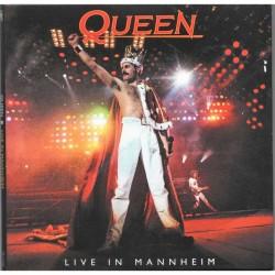 Queen – Live In Mannheim - Double CD Album Digipack - Arena Rock