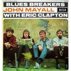 John Mayall With Eric Clapton – Blues Breakers - LP Vinyl Album - Blues Rock