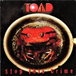 Toad - Stop This Crime - LP Vinyl Album - Hard Rock