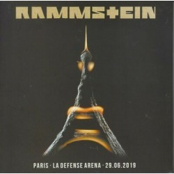 Rammstein – Paris - La Defense Arena 28.06.2019 - Double CD Album Digipack - Hard Rock Industrial