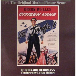 Bernard Herrmann - Citizen Kane - LP Vinyl Album - OST Soundtrack