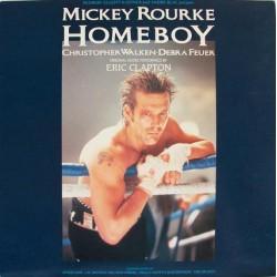 Eric Clapton - Homeboy - The Original Soundtrack - LP Vinyl Album - pressing Italy - OST
