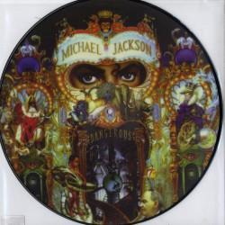 Michael Jackson – Dangerous - LP Vinyl Album - Picture Disc - Funk Soul