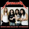 Metallica ‎– Reunion Arena Dallas 1989 - FM Broadcast - Double LP Vinyl Album - Heavy Metal