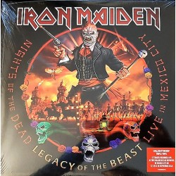Iron Maiden – Nights Of The Dead, Legacy Of The Beast - Live In Mexico City - Triple LP Vinyl - Heavy Metal