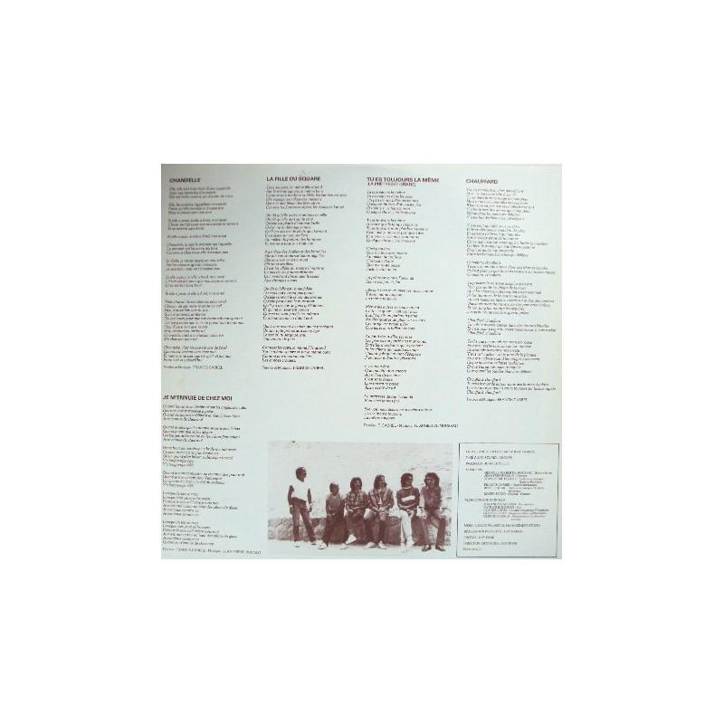 Vinyl Francis Cabrel Carte Postale album LP France 1981 CBS Occasion