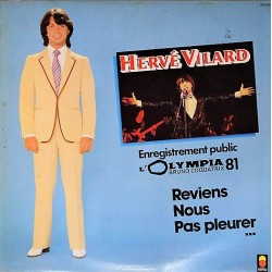 Hervé Vilard – Enregistrement Public - L'Olympia 81 - LP Vinyl Album