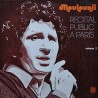 Mouloudji – Récital Public À Paris Volume 2 - LP Vinyl Album - Chanson Française