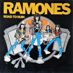 Ramones – Road To Ruin - LP Vinyl Album - Punk Rock