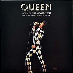 Queen - Live At The Summit Tour Houston Texas - Double CD Album - Rock Music