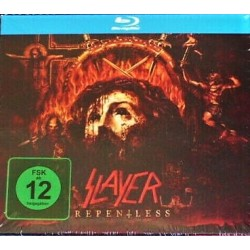 Slayer ‎– Repentless - CD Album + Blu Ray - Limited Edition - Thrash Metal