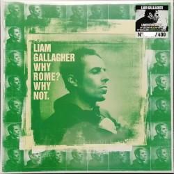 Liam Gallagher - Why Rome? Why Not. - LP Vinyl Album Album - Coloured Green Fluo - Brit Pop Rock