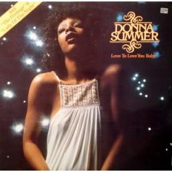 Donna Summer – Love To Love You Baby - LP Vinyl Album - Disco Music