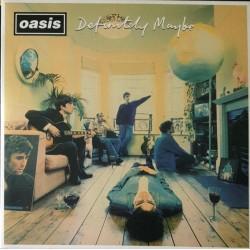 Oasis - Definitely Maybe - Double LP Vinyl Album - Silver Edition - Alternative Rock