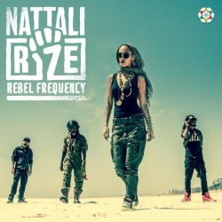Nattali Rize ‎- Rebel Frequency - CD Album Promo - Reggae Roots