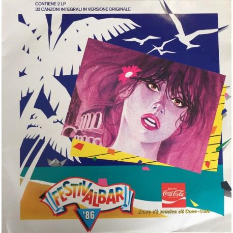 Festivalbar '86 - Compilation - Double LP Vinyl Album - Italo Disco