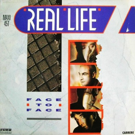 Real Life – Face To Face - Maxi Vinyl 12 inches - New Wave