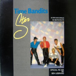 Time Bandits ‎– Star Special Re-Mix - Maxi Vinyl 12 inches - Italo Disco Synth Pop