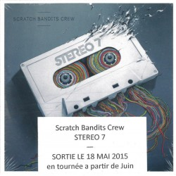 Scratch Bandits Crew ‎– Stereo 7 - CD Album Promo - Hip Hop