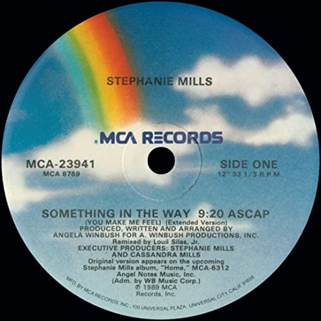 Stephanie Mills – Something In The Way - Maxi Vinyl 12 inches - Funk Soul