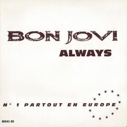 Bon Jovi – Always - Maxi Vinyl 12 inches Promo - Hard Rock