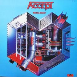 Accept – Metal Heart - LP Vinyl Album - Heavy Metal