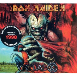 Iron Maiden ‎- Virtual XI - CD Album Digipack - Heavy Metal