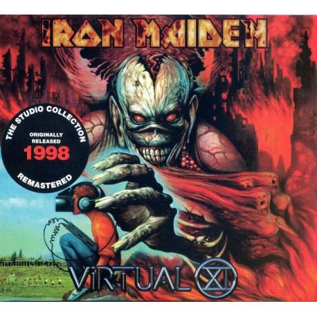 Iron Maiden - Virtual XI - CD Album Digipack - Heavy Metal
