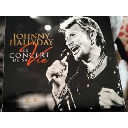 Johnny Hallyday – Le Concert de Sa Vie - TRiple CD Album + DVD - Chanson Française