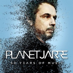 Jean-Michel Jarre ‎– Planet Jarre - 50 Years Of Music - Double CD Album - Electronic Synth Pop