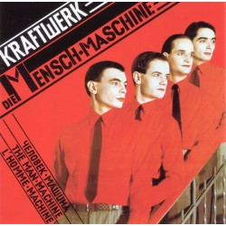 Kraftwerk – Die Mensch·Maschine - LP Vinyl Album - Electro Synth Pop