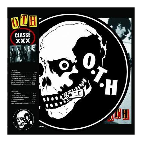O.T.H. - Classé XXX - LP Vinyl Album Picture Disc - French Rock