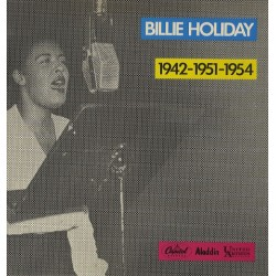 Billie Holiday – 1942-1951-1954 - LP Vinyl Album - Soul Music