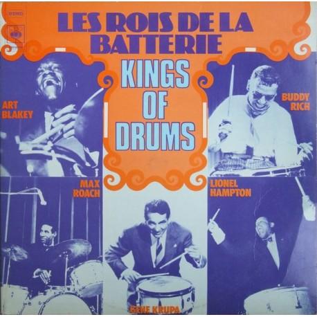 Les Rois De La Batterie - Kings Of Drums - Double LP Vinyl Album - Jazz