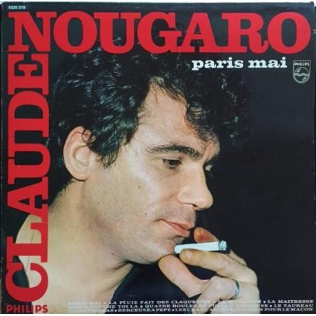 Claude Nougaro - Paris Mai - LP Vinyl Album - Chanson Française Jazz