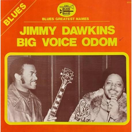 Jimmy Dawkins, Big Voice Odom - LP Vinyl Album - Chicago Blues