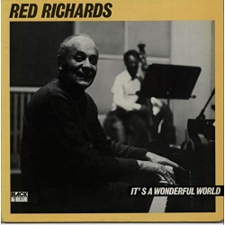Red Richards ‎- It's A Wonderful World - LP Vinyll Album - Jazz Music