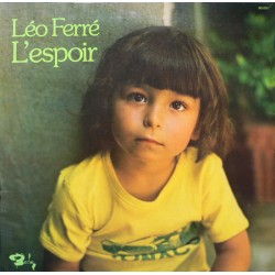 Léo Ferré – L'espoir - LP Vinyl Album - Chanson Française