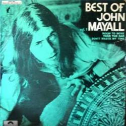 John Mayall - Best Of..Volume 1 - Green Face Cover - LP Vinyl