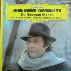 """Anton Dvořák - Carlo Maria Giulini, Orchestre Symphonique De Chicago – Symphonie N°9 """"Du Nouveau Monde"""" - LP Vinyl - Classical"""