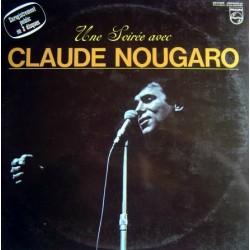 Claude Nougaro – Une Soirée Avec.. - Double LP Vinyl Album - Chanson Française