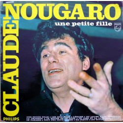 Claude Nougaro -  Une Petite Fille - LP Vinyl Album - Chanson Française