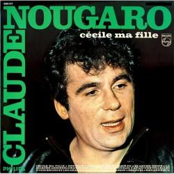 Claude Nougaro - Cécile Ma Fille - LP Vinyl Album - Chanson Française