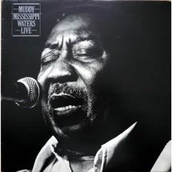 "Muddy Waters – Muddy ""Mississippi"" Waters Live - LP Vinyl Album - Blues"