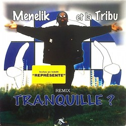 Menelik Et La Tribu ‎- Tranquille ? - Maxi Vinyl 12 inches - French RnB