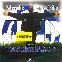 Menelik Et La Tribu - Tranquille ? - Maxi Vinyl 12 inches - RnB Français