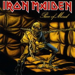 Iron Maiden - Piece Of Mind - LP Vinyl Album Gatefold - Heavy Metal