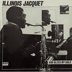 Illinois Jacquet - God Bless My Solo - LP Vinyl Album - Jazz