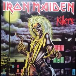 Iron Maiden - Killers - LP Vinyl Album - Hard Rock Metal