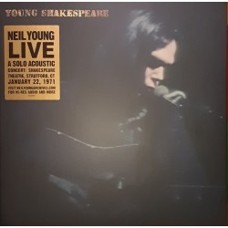 Neil Young ‎- Young Shakespeare Live - LP Vinyl Album - Folk Rock Music